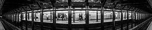 Panorama New York City Subway