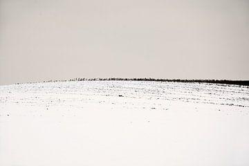 Schneelandschaft Minimal von Lena Weisbek