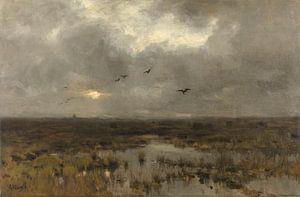 Der Sumpf - Anton Mauve von