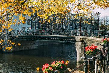 Amsterdam in Herfst sur Patrycja Polechonska
