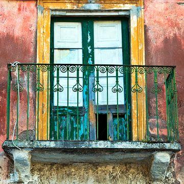 Verlassene Sizilianische Fassade von Silva Wischeropp