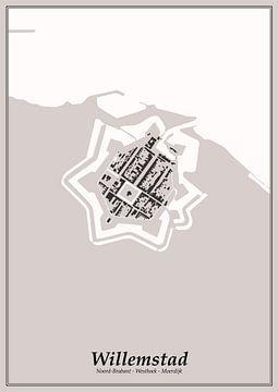 Festungsstadt - Willemstad von Dennis Morshuis