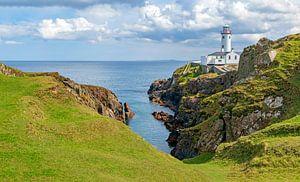 Fanad Head, auf der Halbinsel Fanad mit Blick auf den Atlantischen Ozean, Grafschaft Donegal, Irland