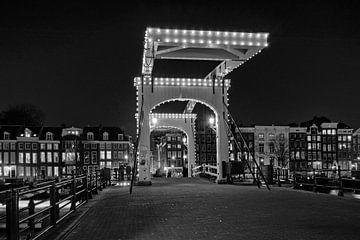 De Magere Brug in Amsterdam van Barbara Brolsma