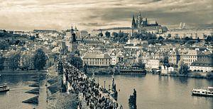 De Karelsbrug in Praag van