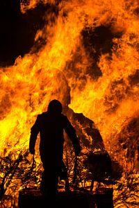 Brandweermannen van Yvonne van der Meij