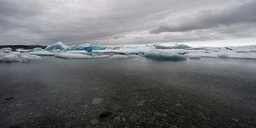 Jökulsarlón IJsland van Ruud van der Lubben
