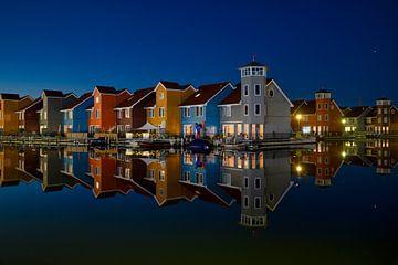 Reitdiephaven in Groningen van Anton Osinga