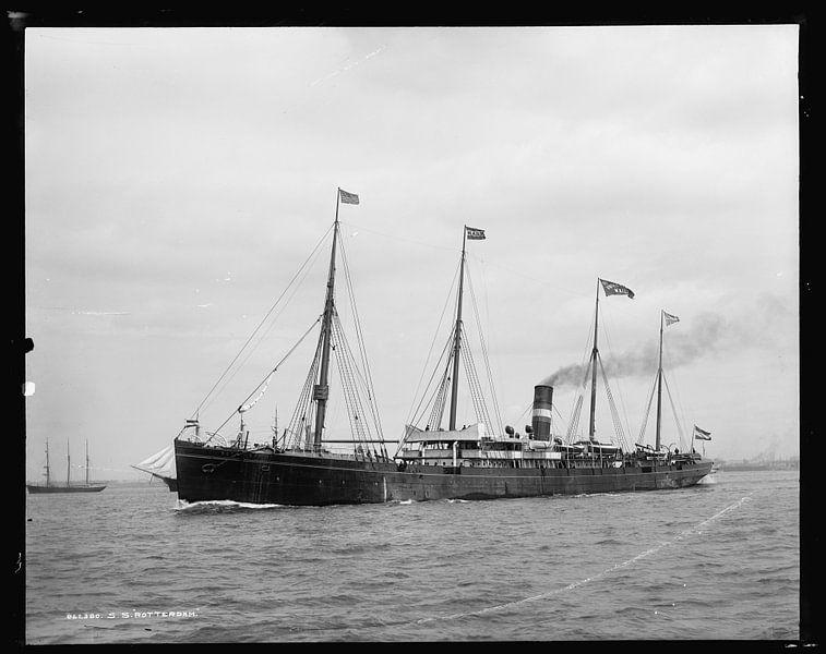 Historische SS Rotterdam foto van Vintage Afbeeldingen