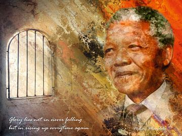 Nelson Mandela van Henk Bouckaert