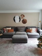Kundenfoto: Schwarz, weiß & weiß (gesehen in vtwonen) von Rob van Heertum, als rundes bild