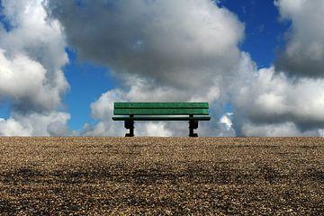 Lonely bench von Martin van der Plas