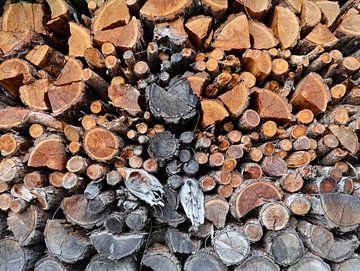 houtstapel van Marieke Funke