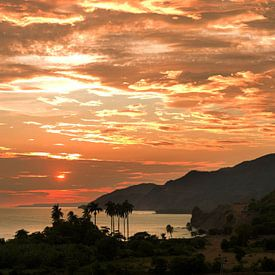 Sonnenuntergang in Kuba von Jasper van der Meij