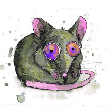 Ratte von Bianca Wisseloo