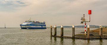Vlieland Ferry bound for mainland sur