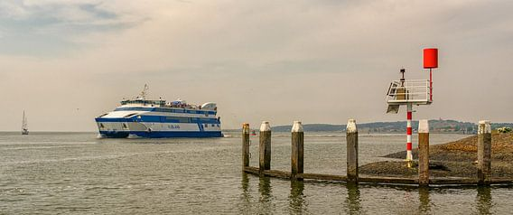 Veerboot Vlieland op naar Harlingen