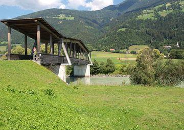 Overdekte brug van Rinke Velds