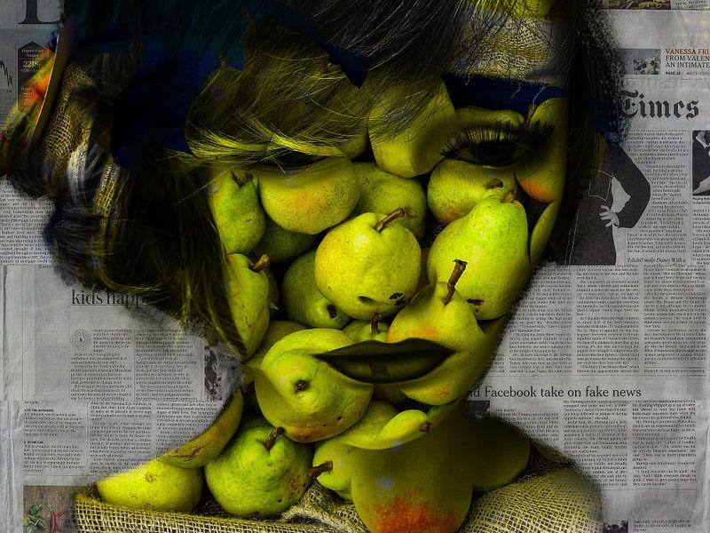 Say it with pears van Gabi Hampe