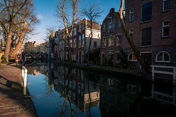 Oude gracht,Utrecht. van