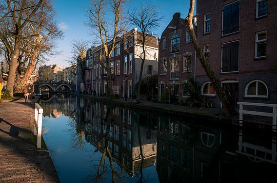 Oude gracht,Utrecht.