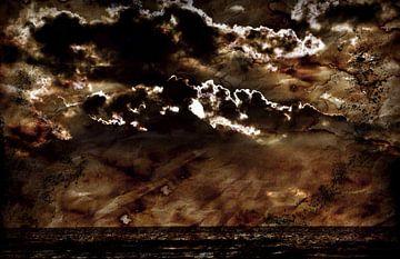 behind clouds van JF art