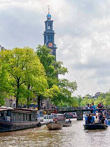 Amsterdam dagje recreatie op de grachten