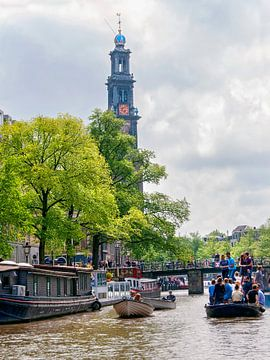 Amsterdam dagje recreatie op de grachten van Anouschka Hendriks