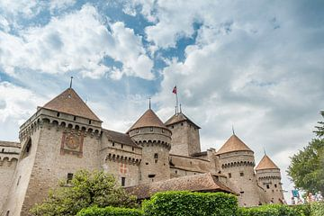 The castle of Chillon, near Montreux (Switzerland). van Carlos Charlez