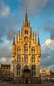 Historisch Stadhuis van Gouda van Gouda op zijn mooist