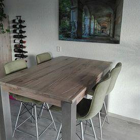 Kundenfoto: Corridor von Frans Nijland, auf alu-dibond