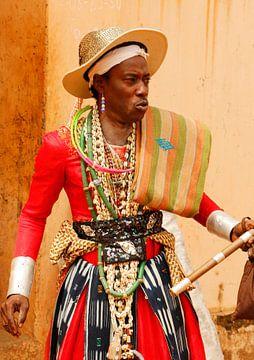 Medicijnman in Benin van