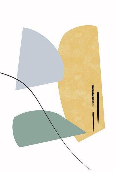 Walk the Line Edition III von Munich Art Prints