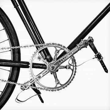 Das Oldtimer-Rennrad von Martin Bergsma