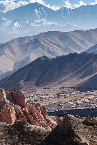 Spectaculair uitzicht over de bergen van de Himalaya | Nepal