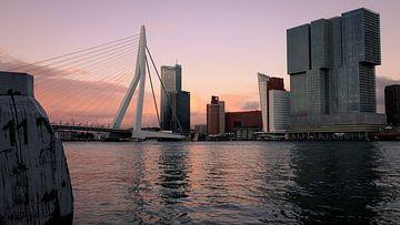 Kop van Zuid vom Scheepsvaartkwartier in Rotterdam von Erik Groen
