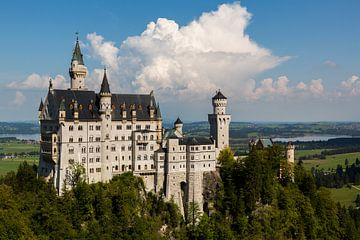 Schloss Neuschwanstein van Remko Bochem