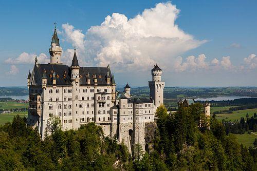 Schloss Neuschwanstein von Remko Bochem