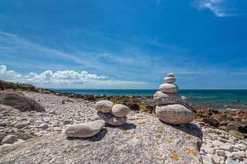 Steine im Gleichgewicht von Kok and Kok