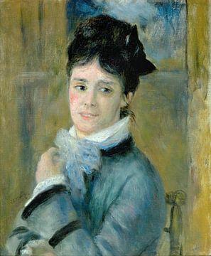 Camille Monet, Pierre-Auguste Renoir sur