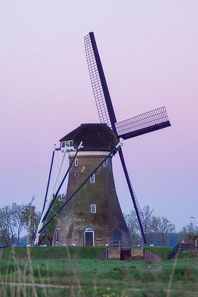 Zonsopgang bij de molen van M Van Rossum