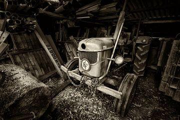 Ein alte Traktor von Halma Fotografie