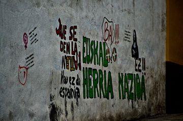 graffiti Noord-Spanje