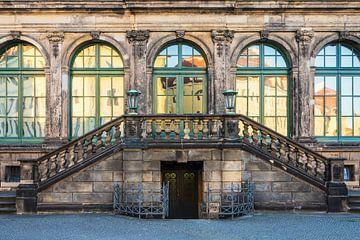 Historisches Gebäude in Dresden sur Rico Ködder
