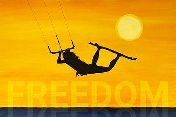 Kitesurfer Freedom van
