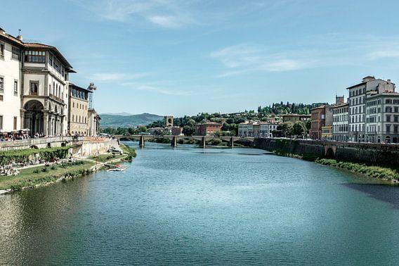 Ponte Vecchio Florence Italie van Marga Meesters