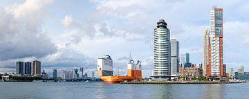 Dockwise Vanguard aan Wilhelminapier in Rotterdam von Maurice Verschuur
