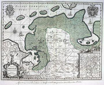 Oost Friesland, 1717 van Atelier Liesjes