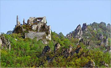 Burgruine Dürnstein von Leopold Brix