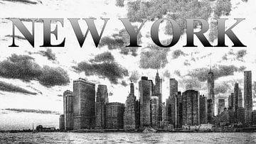 New York Skyline von Carina Buchspies